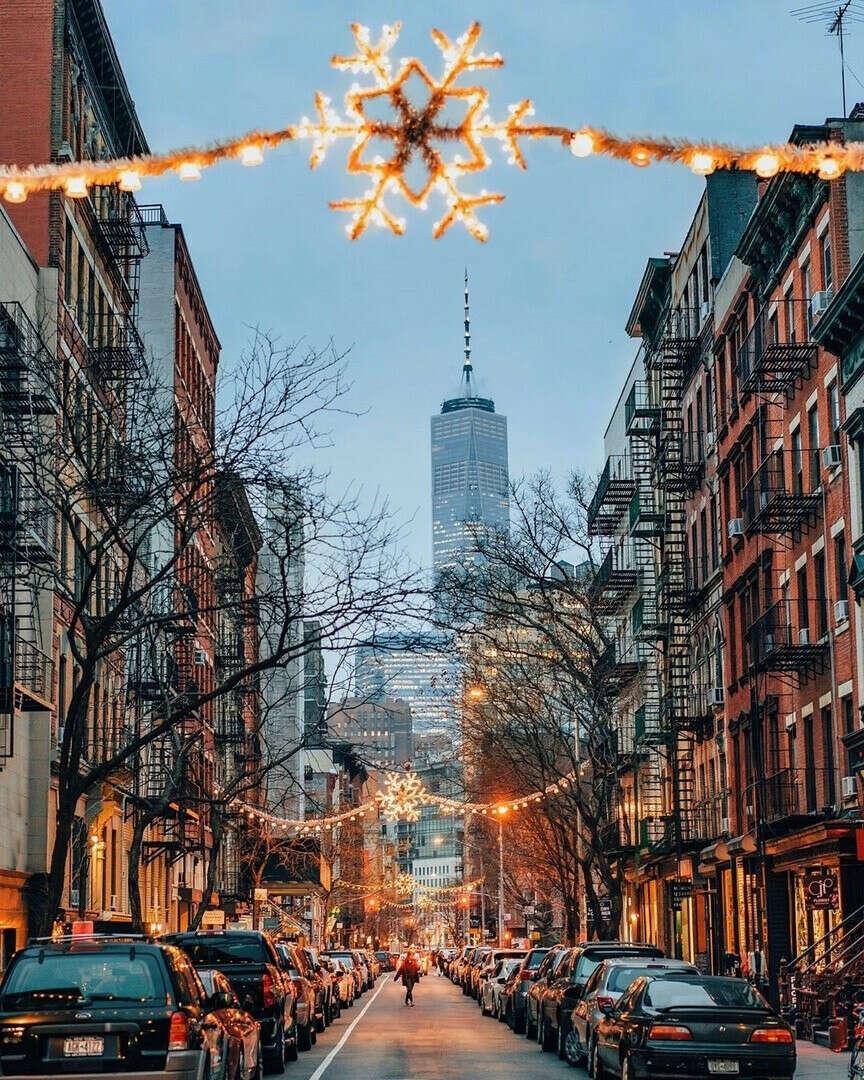 Новый год в Нью Йорке