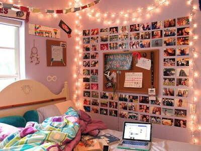 фотки на стене