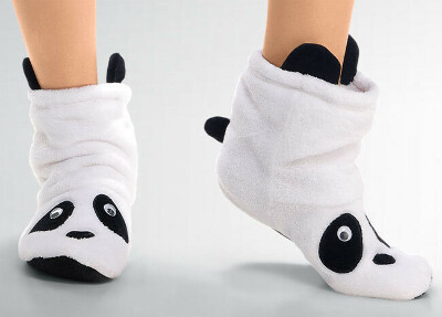 Мягкие тапочки-носки