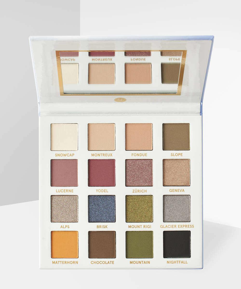 BH cosmetics - Smitten in Switzerland Palette