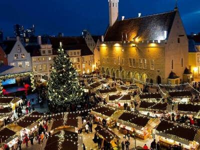 Встретить новый год в Европе