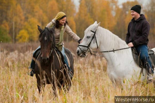 Покататься верхом на лошадке :)