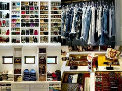 Много модной одежды