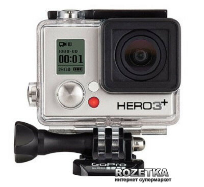 GoPro HERO3+ Silver Edition (CHDHN-302-EU)
