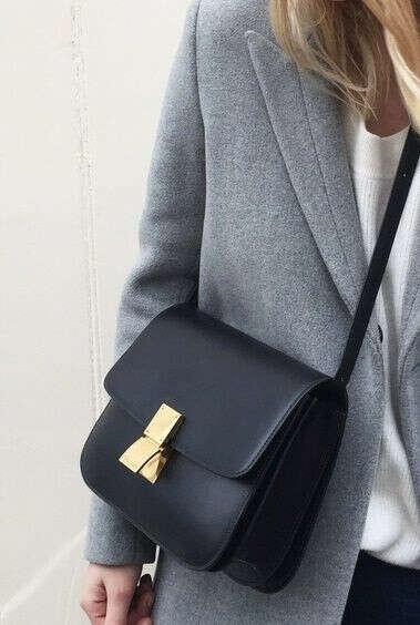 Идеальная черная сумка Celine
