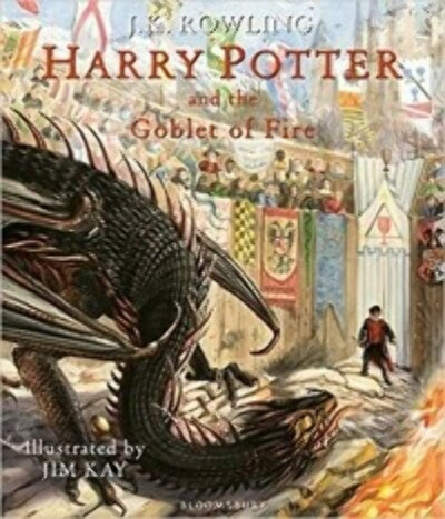 Harry Potter and the Goblet of Fire (illustrated by Jim Kay)