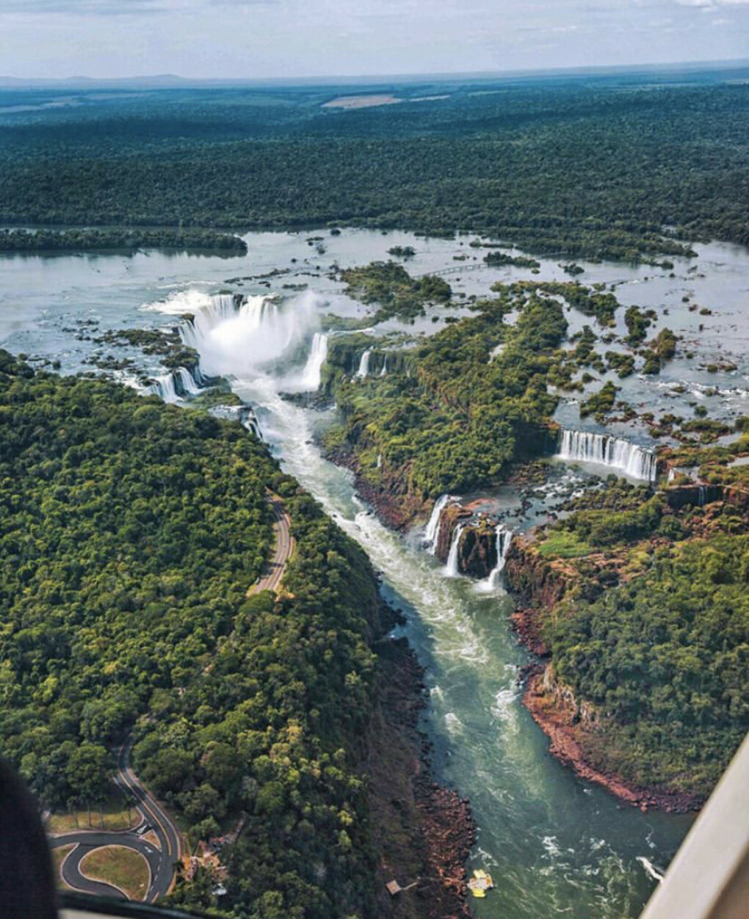 Посетить водопады Игуасу