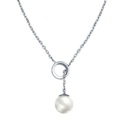 Колье из серебра с жемчугом арт. 94070079 от SOKOLOV