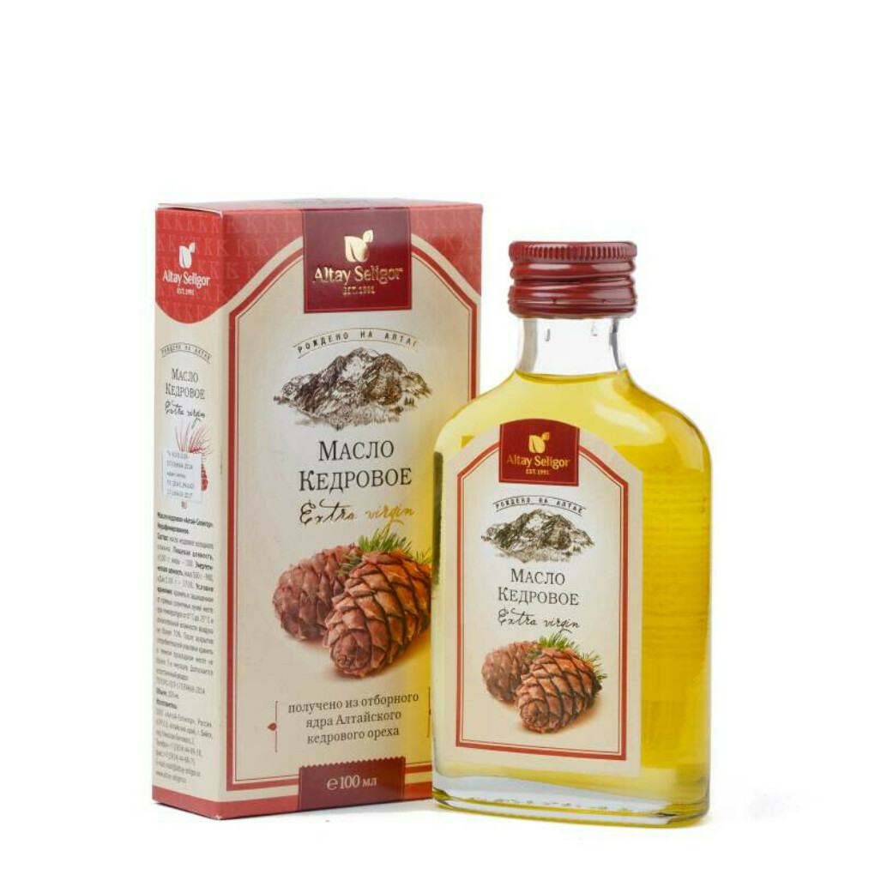 Кедровое масло (для еды)