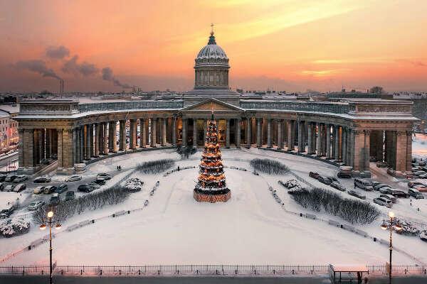 Встретить новый год в Санкт-Петербурге