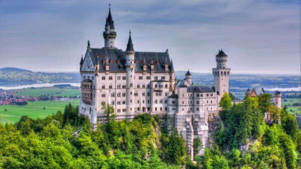 Посетить старинные замки Германии