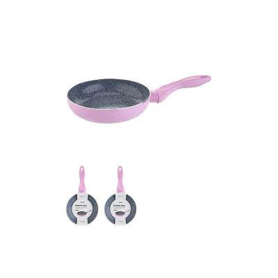 Керамічна антипригарна сковорідка 28 см (рожева) - Miniso