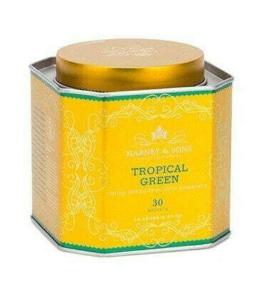лакшери чай Harney & Sons TROPICAL GREEN (Тропический)