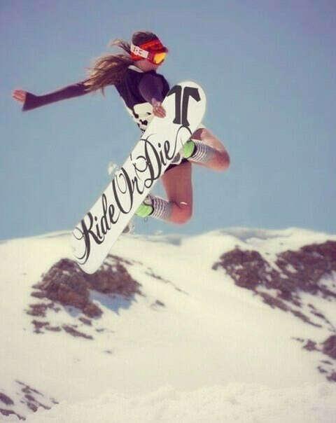 сноуборд!