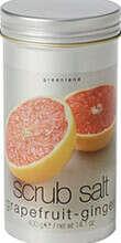 Скраб-соль, грейпфрут-имбирь, 400gr