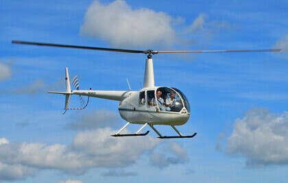 Индивидуальный обзорный полет на вертолете