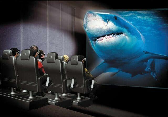 Посетить сеанс 5D-кинотеатра