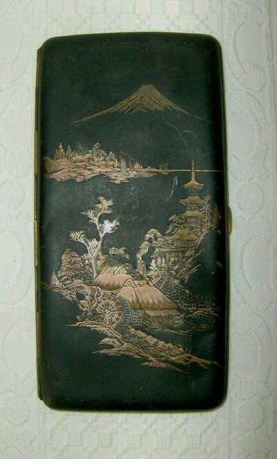 Японский портсигар