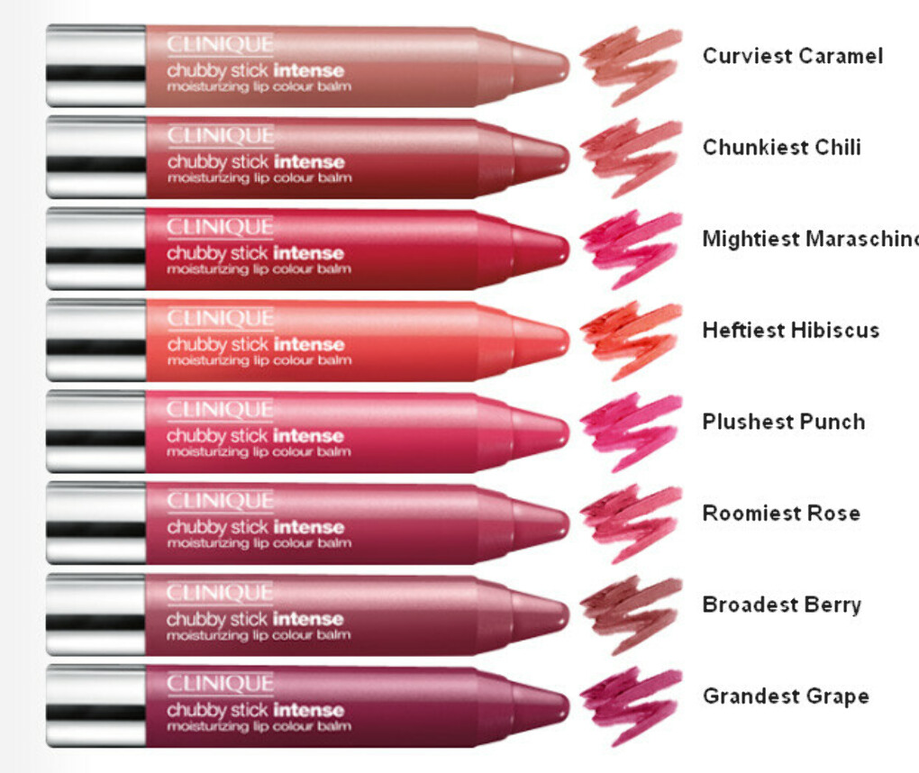 CLINIQUE Увлажняющий бальзам для губ Chubby Stick Intense Moisturizing Lip Colour Balm