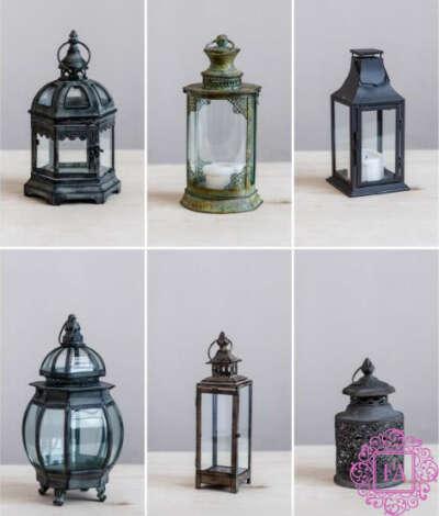 Различные декоративные фонари.