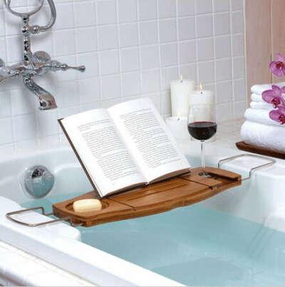Держатель для книг в ванную