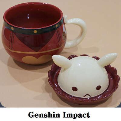 Кружка Klee, популярная игра, реквизит для косплея Genshin Impact, аниме аксессуары, проект «сделай сам», чашка бомба для кофе, новогодний подарок для детей, 2021|Игровые костюмы|   | АлиЭкспресс