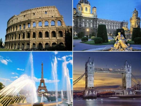 поехать в Европу
