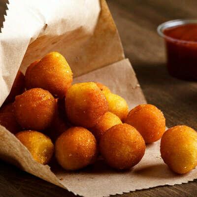 Сделать картофельные шарики
