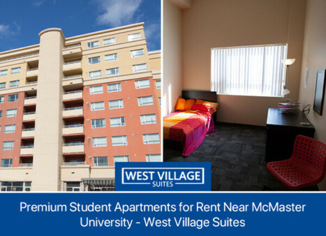 Premium Student Apartments for Rent Near McMaster University - West Village Suites