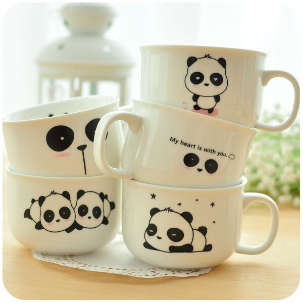 чашку с пандой