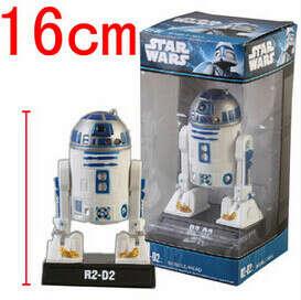 Funko поп классический аниме фигуры звездные войны R2 D2 робот высокое качество пвх качающейся головой куклы A72, принадлежащий категории Игрушечные фигурки и относящийся к Игрушки и хобби на сайте AliExpress.com | Alibaba Group