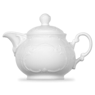 Чайник с крышкой 350 мл, цвет белый, серия Mozart, BAUSCHER, Германия