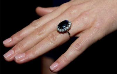 Кольцо как у принцессы Дианы