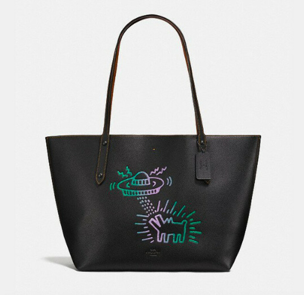 Сумка Coach X Keith Haring Market Tote