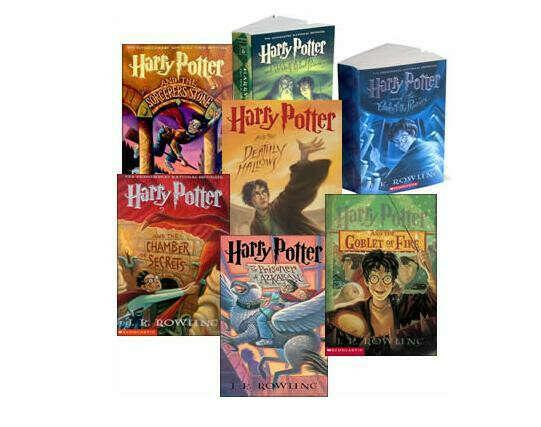 "Книги ""Гарри Поттер"" все части"