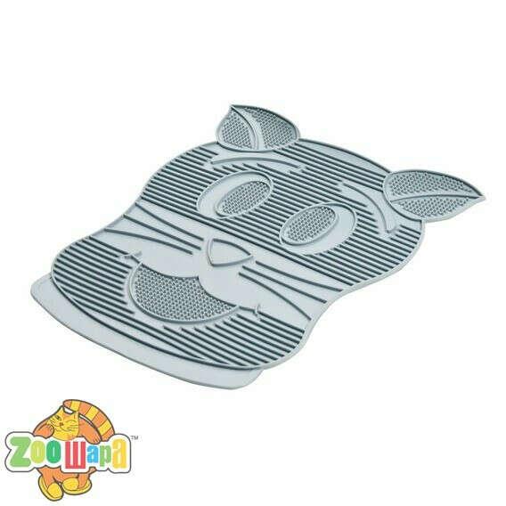 Резиновый коврик для кота