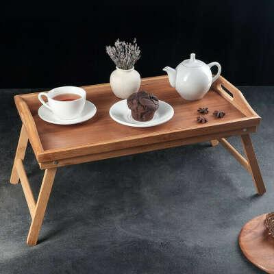 Поднос-столик, 50 см х 30 см, 1 шт