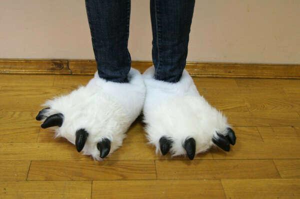 Тапочки-лапы