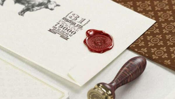 Набор для сургучной печати