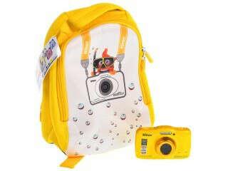 Компактная камера Nikon S32 Yellow