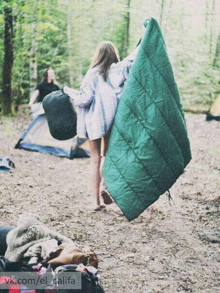хочу отправиться с друзьями в поход.