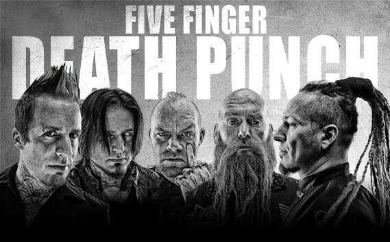 Концерт Five Fingers Death Punch