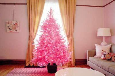 Розовую елку