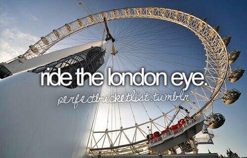 Проехаться на Лондонском колесе обозрения