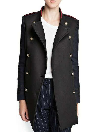 """Пальто в стиле """"милитари"""" Mango"""
