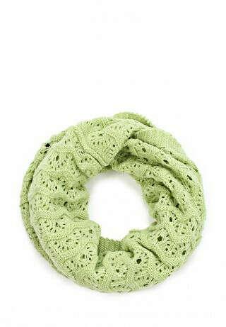 Салатовый шарф