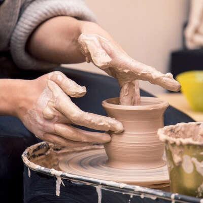 Урок гончарного мастерства