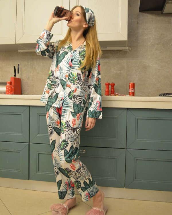 Комплект Malibu пижама и маска для сна