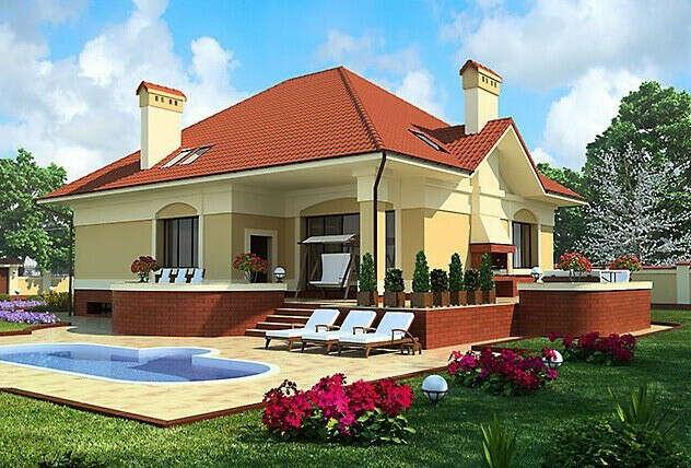 частный дом за городом