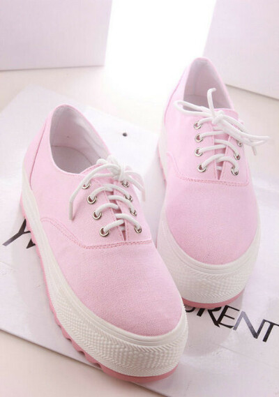 Sweet fashion canvas shoes platform shoes  from Fashion Store